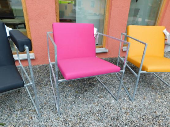 Brühl Outdoorsessel Sessel Grace wetterfest magenta-rot