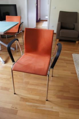 Designer  Esszimmer-Stühle v. Erik Magnussen