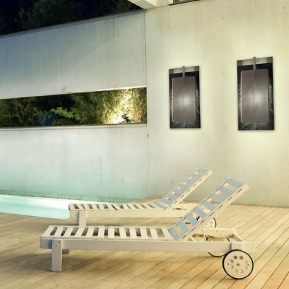 Knoth van Dag - Outdoor Leuchte Wand Design by Karl Lagerfeld ...