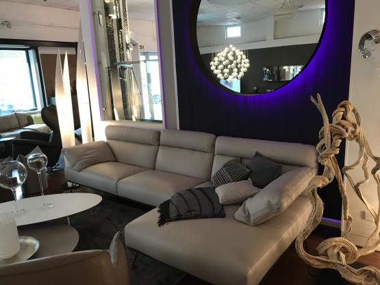 Cierre Sofa Crystal mit Longchair 2018