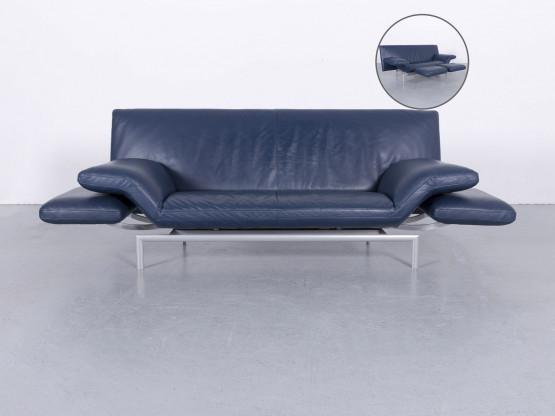 Designo Leder Blau  Dreisitzer