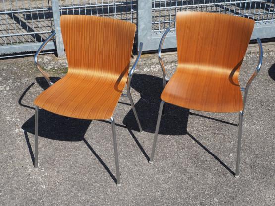 FRITZ HANSEN 2x Stuhl Vicoduo - Setpreis