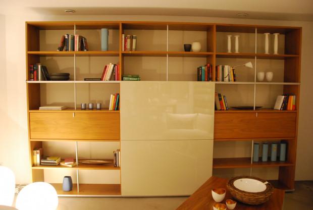 Bücherregal mit TV-Fach ARCA PLAN - KETTNAKER
