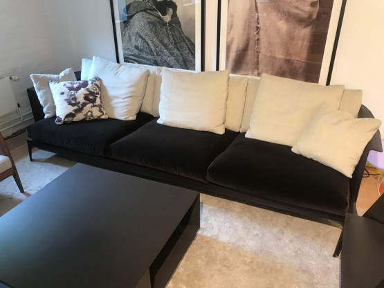 Flexform | Sofa Isabel | 300 cm  | Stoff Togo