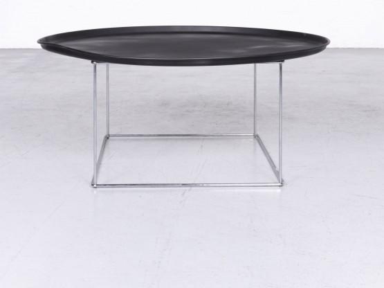 Bb Italia Fat Fat Designer Metall Tisch Schwarz Couchtisch 6771