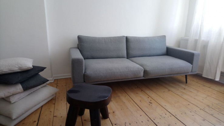Sofa Carlton Von BoConcept, Fast Neu, Wollstoff Grau