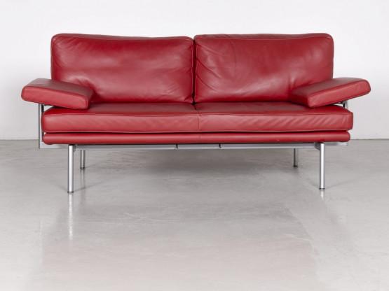 Walter Knoll Living Platform Designer Leder Sofa Rot By Eoos Design