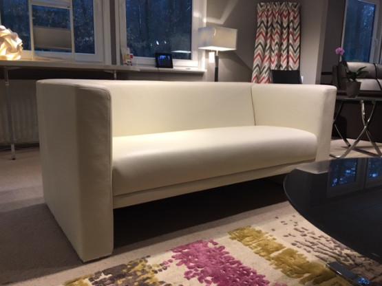 Brühl Visavis Sofa 2-sitzig in Leder