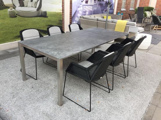 Garten Sitzgruppe - Tisch Solpuri  & 6 Cane-Line