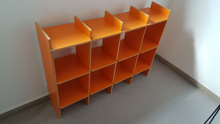 FNP Regal aus Moormann Kollektion orange