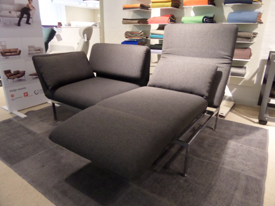Brühl Sofa Roro 2-sitzig mit Drehsitz links und rechts