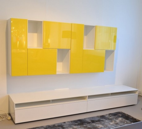 Interlübke Wohnwand Kombination Cube Change & Cube...