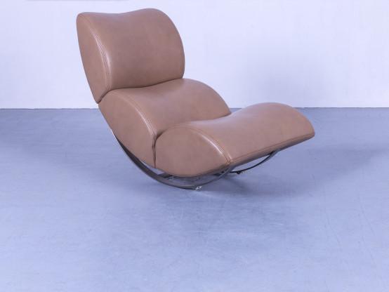 Gallery Of Koinor Jetlag Designer Sessel Beige Creme Braun Echtleder Relax  Liege With Koinor Liege