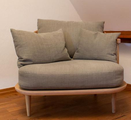 """Sessel """"FLY"""" von &tradition, Bezugstoff Farbe beig..."""