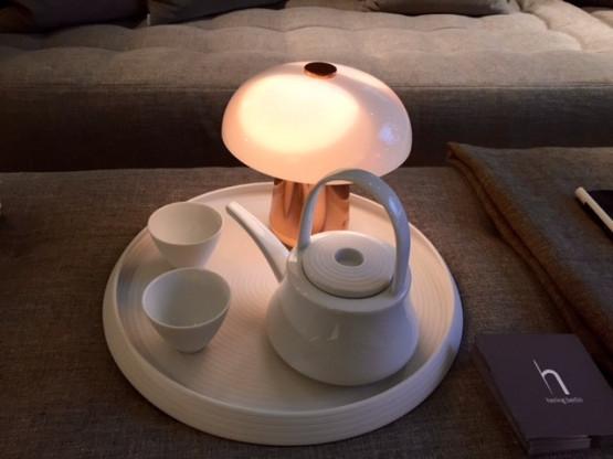 Akku Tischleuchte für gemütliches indirektes Licht