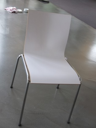 Engelbrechts- Chairik 101 - Farbe: weiß/ schwarz