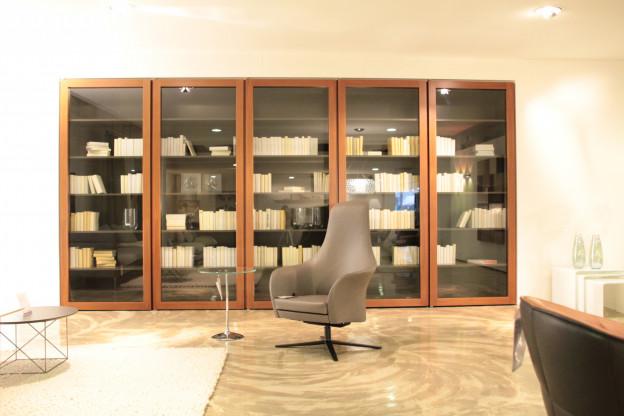 Bücherwand KAPO Moderne