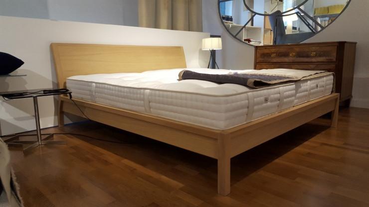 Bett Eiche 180 x 200 cm, Neue Wiener Werkstätte