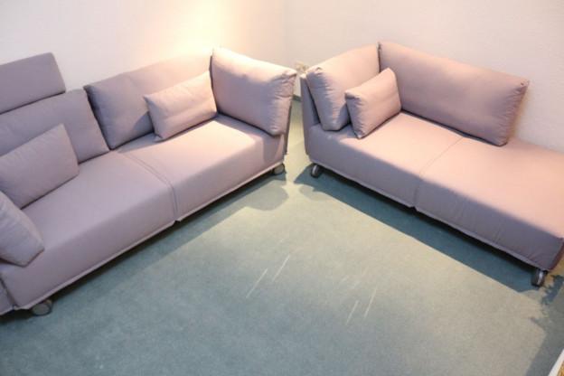 Sofagruppe mit 2 Sofas