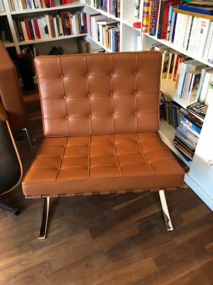 "Sessel ""Barcelona Chairs"", Knoll International"