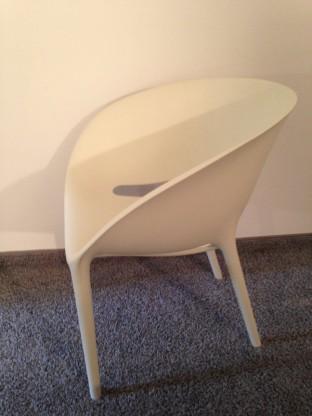 Stuhl Soft Egg für Innen und Aussen