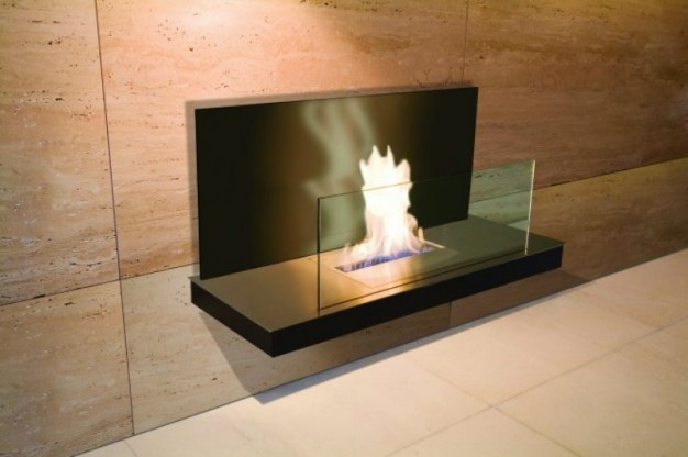 Bioethanol Kamin Wall Flame Ii Von Radius Design