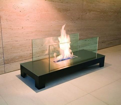 Bioethanol-Kamin Floor Flame von Radius Design