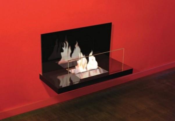 Bioethanol-Kamin Wall Flame II von Radius Design