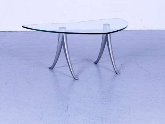 Free Rolf Benz Designer Glas Couchtisch Silber Ablage Metall With Couchtisch  Silber Glas