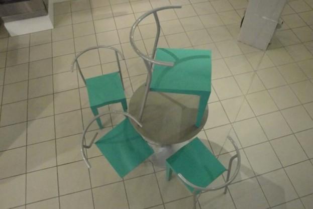 Dr. Glob Stuhlgruppe von Kartell