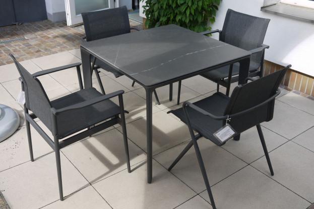 Gloster Tischgruppe Outdoor