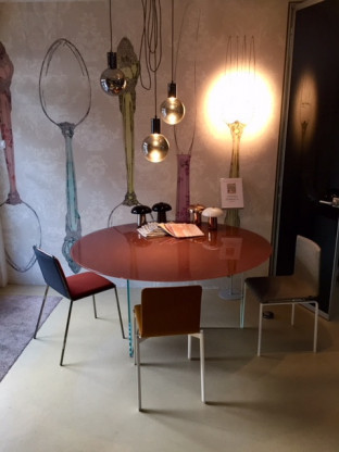 LAGO Air Table Tondi Glastisch 160 cm rund bei Kno...
