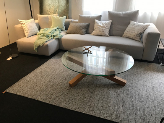ecksofa lario von flexform sonderpreis designerm bel t bingen. Black Bedroom Furniture Sets. Home Design Ideas