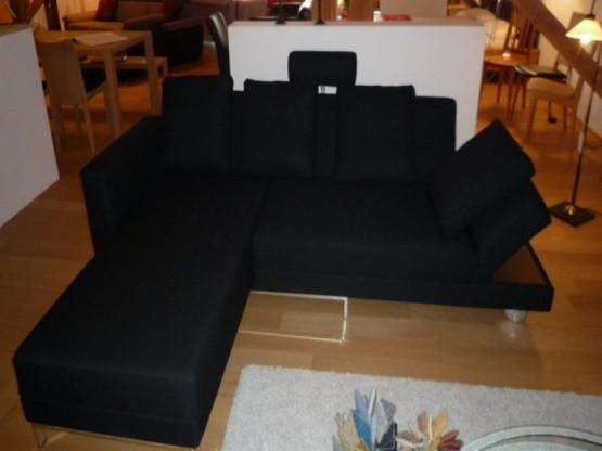 Brühl Sofa Four Two in Stoff schwarz
