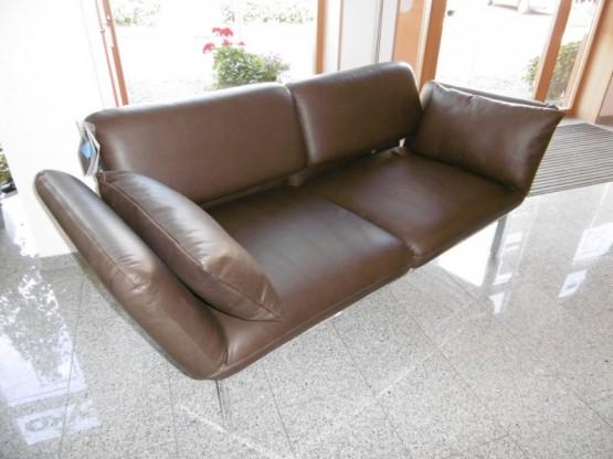 Brühl Sofa Roro in Leder braun