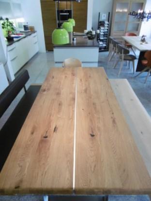 team 7 nox auszug tisch in wildeiche l nge 225 cm designerm bel hohentengen. Black Bedroom Furniture Sets. Home Design Ideas