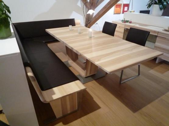 anrei esstisch tesso mit eckbank und st hlen in kernesche. Black Bedroom Furniture Sets. Home Design Ideas