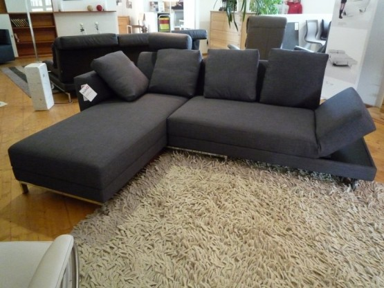 br hl sofa four two in stoff grau designerm bel hohentengen. Black Bedroom Furniture Sets. Home Design Ideas