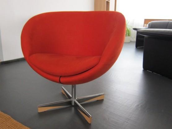Planet Sessel, Polster rot von Variér