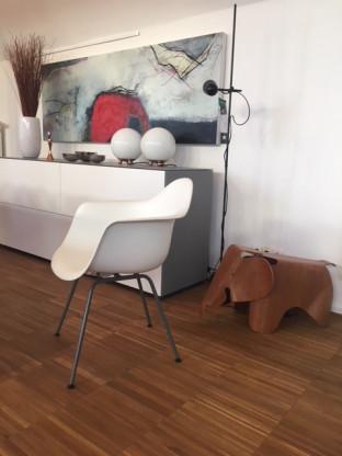 Eames Plastic Armchair  - alte Höhe -