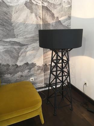 Stehleuchte Construction Lamp M schwarz von Moooi