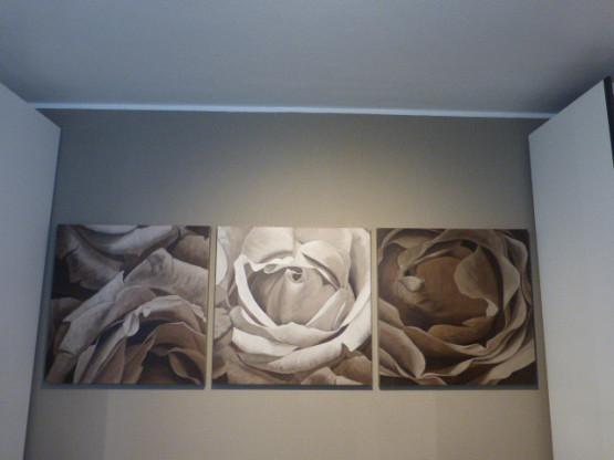 """Triptychon """"Flores"""" von Jam Art"""