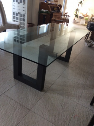 Ital. Designerglastisch