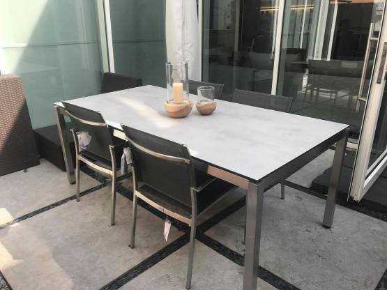 Tischgruppe von Stern