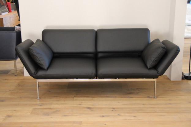 Ausstellungsstuck Sofa Moule Der Fa Bruhl Bezug Stoff Farbe Grau Ton Eur 5 999 00 Picclick De