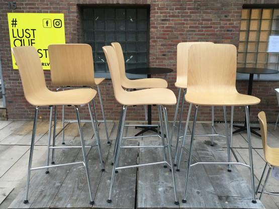 Firma: Vitra; Stuhl HAL Ply Stool  High; Farbe: b...