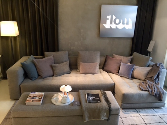 Modul - Sofa Doze von Flou Ecke ist variabel recht...