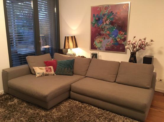 Hamilton Sofa Mit Chaise Lounge Element Von Minotti Designermöbel