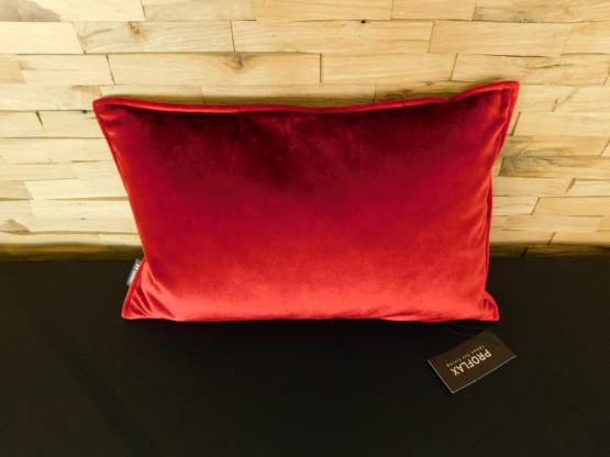 Proflax Kissen ENNIO 3825-400 rot, 27 x 43 cm, inkl Füllung