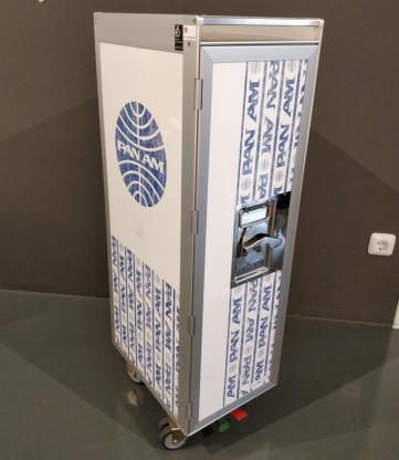 Flugzeugtrolley Silver Edition von Bordbar